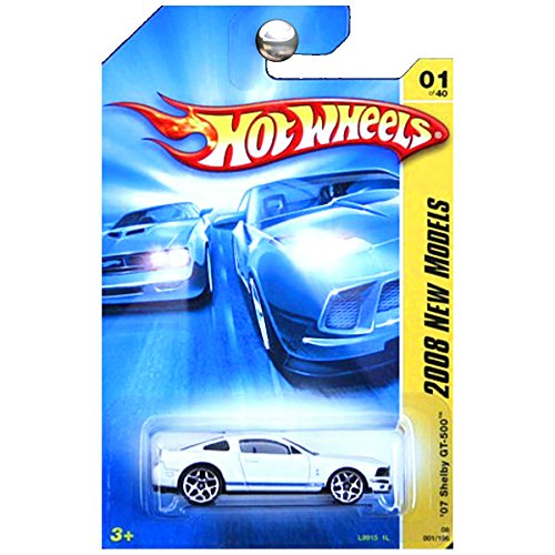 Hot Wheels 2008 New Models 2007 Ford Mustang Shelby GT500 GT-500 - Mustang Gt500 Ford 2007 Shelby