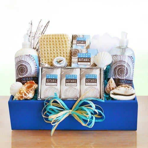 Ocean Pur Botanic Spa Gift Basket for Women