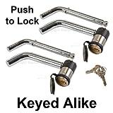 Master Lock Keyed Alike Trailer Hitch Locks 2866KA-2