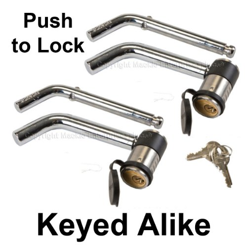 Master Lock Keyed Alike Trailer Hitch Locks 2866KA-2 ()