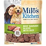 Milo's Kitchen Beef Sausage Slices with Rice, 10 oz.