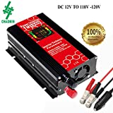 450 watt power inverter - ChaoMin Car Power Inverter 500W 12V to 110V/120V 2.1A 5V USB Port Dc to Ac Car Vehicle Auto
