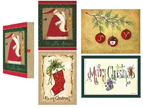 Price comparison product image Keepsake Boxed Christmas Cards - SYMBOLS OF THE SEASON - 20 Pack