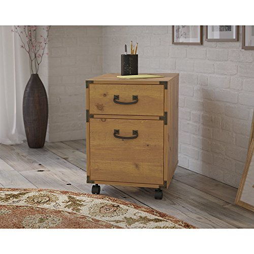 Ironworks 2 Drawer Mobile Pedestal by Kathy Ireland Office