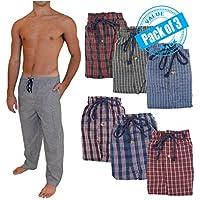 Andrew Scott de los hombres 3Pack Super Light Peso Lounge dormir pantalones