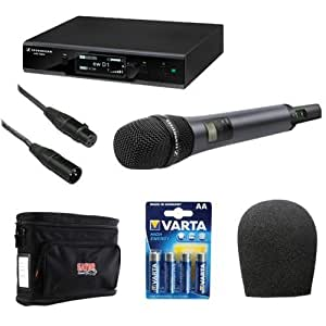 sennheiser ew d1 845s evolution wireless d1 digital vocal system with handheld. Black Bedroom Furniture Sets. Home Design Ideas