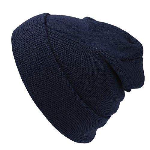 Cap911 Unisex Plain 12 inch long Beanie - Many Colors (Winter Solid Beanie Long)