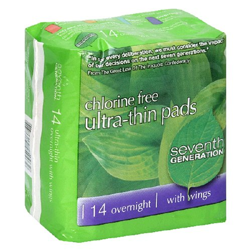 Review Seventh Generation Ultra-Thin Pads,