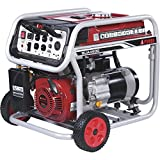 A-iPower SUA4500 4500 Watt Portable Generator Gas Powered Wheel Kit Included, EPA/CARB complied