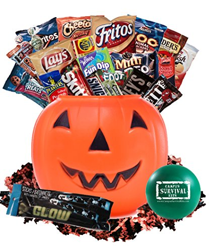 Halloween Treats For College Students (Halloween Campus Survival Kit Care Package)
