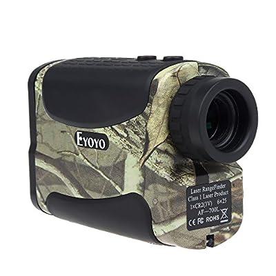 Seesii Eyoyo Rangefinder Aofar AF-700L Range Finder Waterproof Hunting Monocular Golf Rangefinders Portable Measure Distance Meter/Tester with Pin seeker 20Seconds Scan Speed Measure by Eyoyo