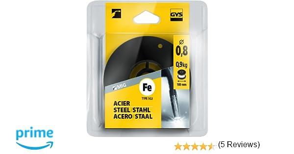 GYS Ø 100 mm; 0,9 kg; Ø 0,8 mm - Accesorio de soldadura por arco: Amazon.es: Industria, empresas y ciencia