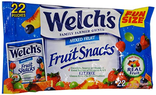 Welch's Mixed Fruit Fruit Snacks, 11 Ounce