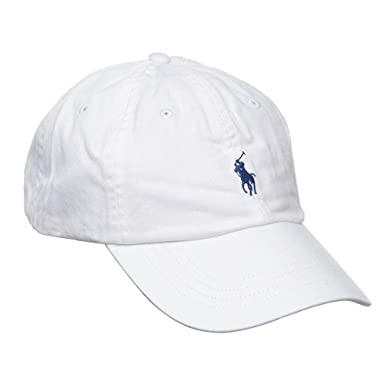 abc1e8f10c1fd Polo Ralph Lauren Signature Pony Cap with Leather Buckle Strap for ...