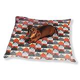 City Patchwork Dog Pillow Luxury Dog Cat Pet Bed
