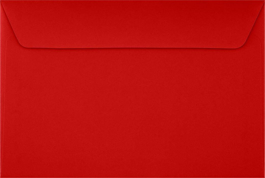 6 x 9 Booklet Envelopes - Ruby Red (50 Qty.) Envelopes.com