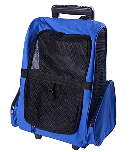 Pawhut Deluxe Travel Carrier Backpack