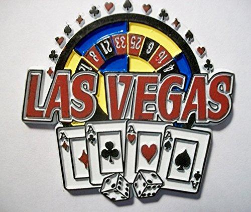 Las Vegas 4 Aces Fridge Magnet