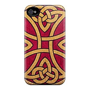 Hard Plastic Iphone 4/4s Case Back Cover,hot Celtic Knot Case At Perfect Diy