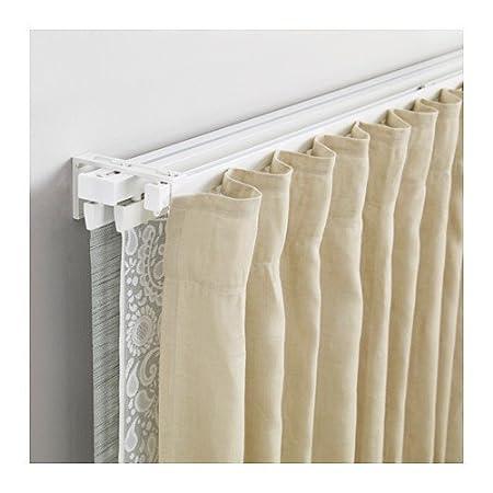 super economico stile classico nuovo stile di vita Ikea vidga Tende di set in bianco; 1 di calore e 3 di calore ...