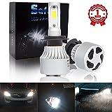 Safego H7 LED Car Headlight Bulbs Kit 8000LM COB Chip Auto LED Light