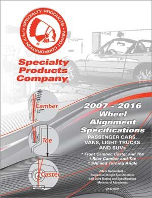 Specialty Products 82016 SPEC BOOK - 2016 EDITION