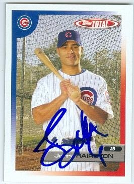 Autograph 158445 Chicago Cubs 2005 Topps Total No. 142 Jerry Hairston Autographed Baseball Card 2005 Topps Autographed Baseball Card