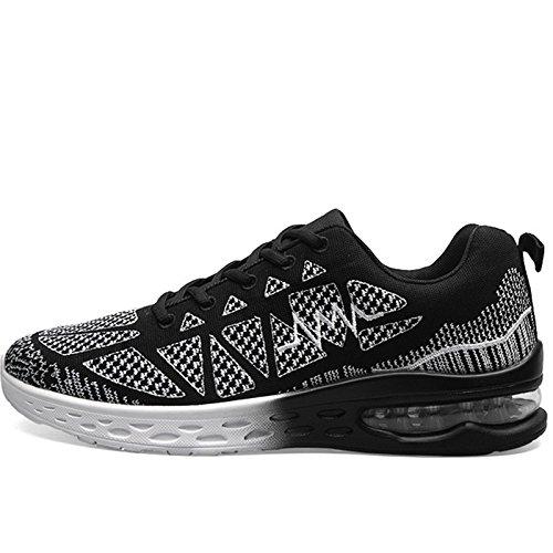 D Nouvelle sport extérieur coussin Jogging Randonnée chaussures de chaussures d'air Chaussures Formation Hommes course Zapatillas femmes pour tendance respirant de rqr1w7H