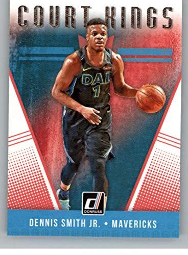 2018-19 Donruss Court Kings Basketball Card #6 Dennis Smith Jr. Dallas Mavericks Official NBA Trading Card Produced By Panini