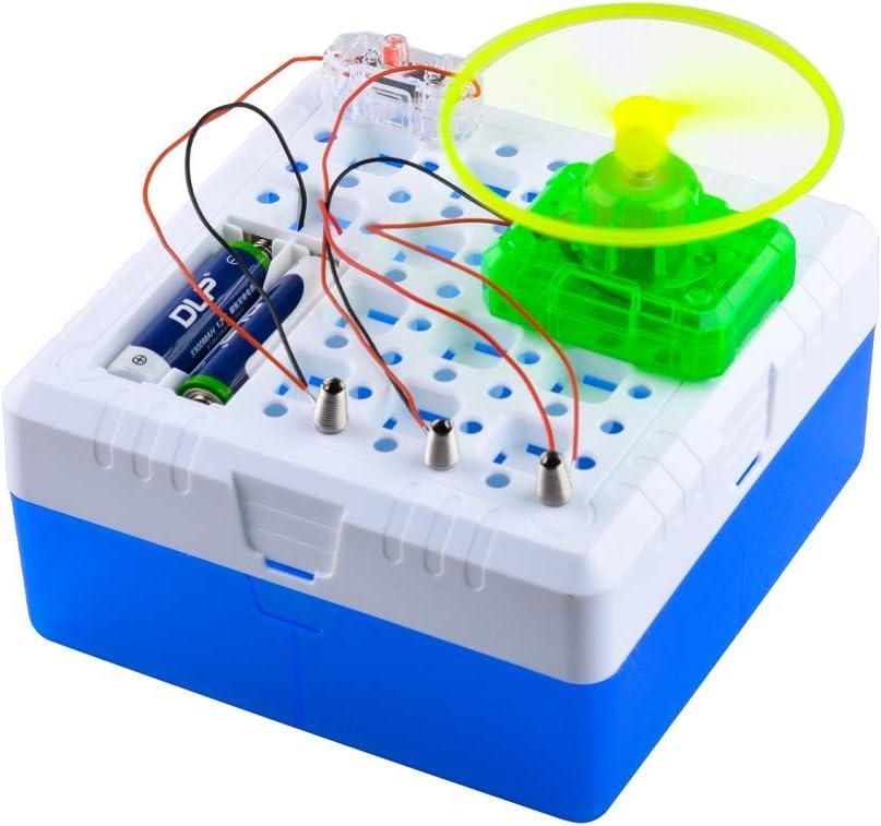 CITOY Science Kits Bloque de construcción eléctrico Tallo Circuitos rápidos Juguete para niños niños