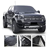 ": MakTools Car Windshield Snow Cover, Extra Large Size for Most Vehicle,96""x57""with Mirror Snow Covers"