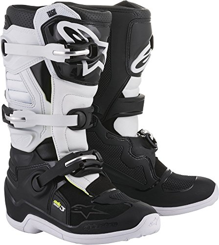 Alpinestars Tech 3 Stella Women's Motocross Off-Road Motorcycle Boots 2018 Version Black/White, Size 7
