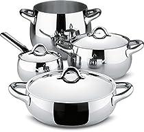 Alessi SG100S7 Mami Set 7 Pcs 7 Piece Kitchen, Silver