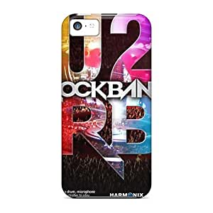 Scratch Resistant Hard Phone Covers For Iphone 5c With Provide Private Custom Colorful Red Hot Chili Peppers Skin KellyLast