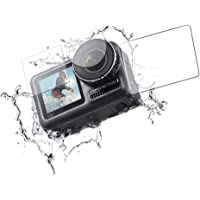 Uonlytech Kamera Ekran Koruyucu Film Çizilmez Su Geçirmez Sertleştirilmiş Cam Spor Kamerası için (3 Adet)