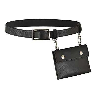 0d38d94e656 Meliya Ladies Personalized Waist Bag Mini PU Leather Hip Belt Bag Travel  Bumbag Fanny Pack Cell
