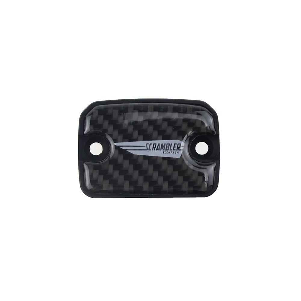 Tappo serbatoio olio freno KODASKIN-EU per moto Carbon Italia anteriore per Ducati Scrambler ICON (oro)