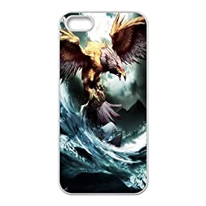 High Quality Phone Case For Apple Iphone 5 5S Cases -Eagle pattern art-LiuWeiTing Store Case 20