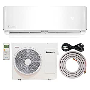 klimaire 12 000 btu 21 5 seer ductless mini. Black Bedroom Furniture Sets. Home Design Ideas