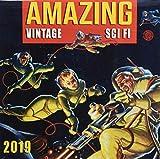 Amazing Vintage Sci Fi 2019 Calendar