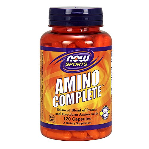 Amino Acid Complex - NOW Sports Amino Complete,120 Capsules
