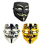 Ru S Guy Fawkes Anonymous V for Vendetta Mask 2 Pieces