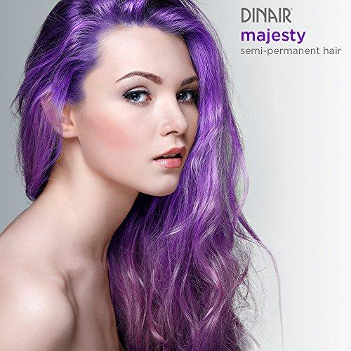 Dinair Airbrush Semi-Permanent Hair Color | Majesty Purple 2 oz. -