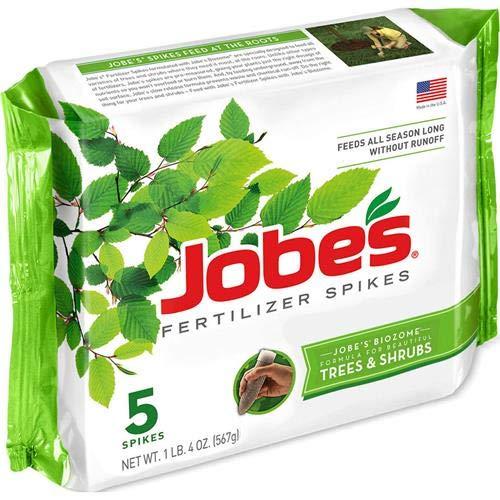 Jobe's Tree & Shrub Fertilizer Spikes, 5 Spikes
