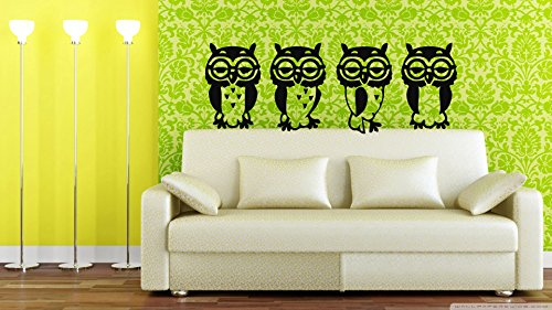 Wall Vinyl Sticker Decals Mural Kids Animal Owl