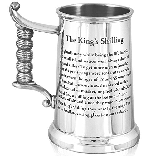 ENGLISH PEWTER COMPANY [HG170] HEAVY GAUGE KING'S SHILLING TANKARD