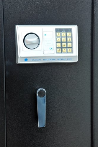 Homegear-Large-5-Rifle-Electronic-Gun-Safe-for-Firearms-with-Internal-JewelryValuables-Lockbox