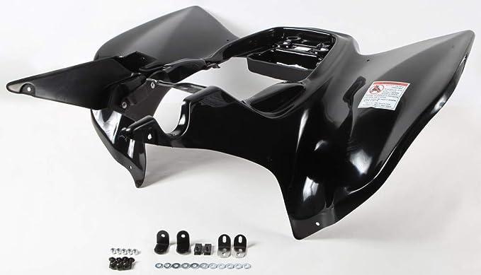 HONDA TRX 450R 450ER 06-14 BLACK PLASTIC REAR FENDER TRX450R TRX450ER