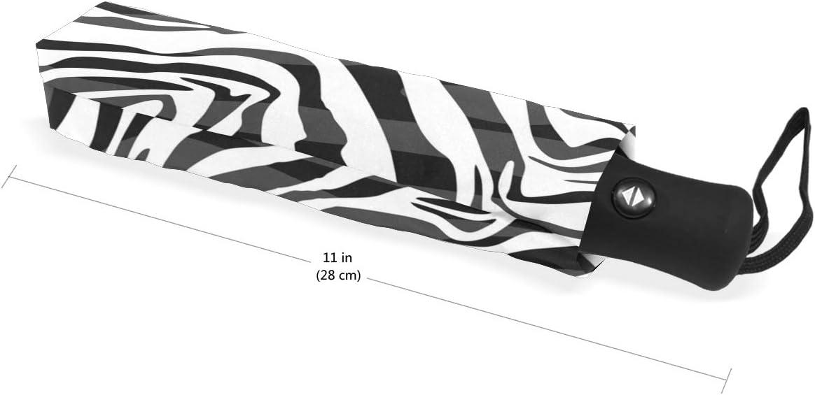 BIGJOKE Parapluie 3 Plis /à Ouverture et Fermeture Automatique Plume de Paon Coupe-Vent L/éger Voyage Parapluie de Pluie Compact pour gar/çons Filles Hommes Femmes