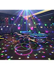 Wonsung Stage Lights 18W Lamps Bluetooth Crystal Magic Ball RGB Disco Party Lights, SD and USB Ports for Music Playing, with Remote Control For DJ Disco House Party Hotel Stage Office Camping Field Etc, Lighting For Halloween Christmas new year home party